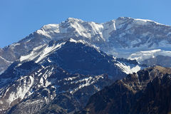 Aconcagua mountains Stock Images