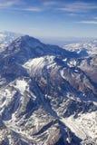 Aconccagua söder vänder mot Arkivfoton