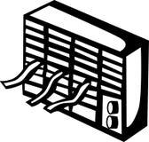 Acondicionador de aire ilustración del vector