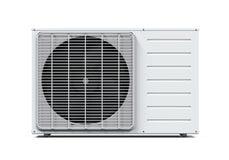 Acondicionador de aire aislado Foto de archivo libre de regalías