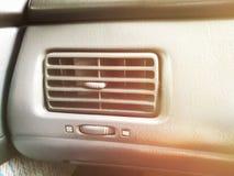 Acondicionador de aire del coche fotografía de archivo