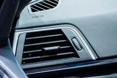 Acondicionador de aire en coche Imagen de archivo libre de regalías