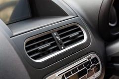 Acondicionador de aire en coche compacto fotografía de archivo