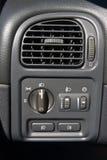 Acondicionador de aire en el coche fotos de archivo libres de regalías
