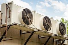 Acondicionadores de aire foto de archivo