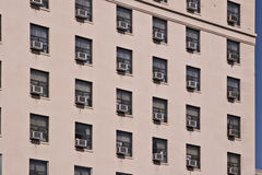 Acondicionadores de aire fotografía de archivo