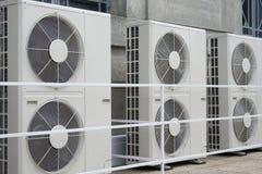 Acondicionadores de aire imagen de archivo libre de regalías