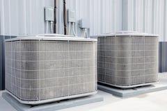 Acondicionadores de aire, industerial, fotos de archivo libres de regalías
