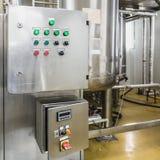 Acondicionamento da água ou sala da destilação Fotos de Stock Royalty Free