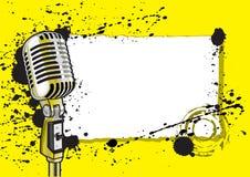 Acontecimiento de la música (ilustración) Imagenes de archivo