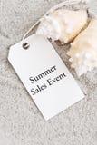 Acontecimiento de ventas del verano Imagen de archivo