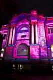 Acontecimiento ligero vivo de Sydney Fotografía de archivo libre de regalías