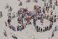 Acontecimiento público en Quito Fotos de archivo libres de regalías