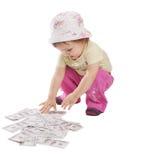 Acopio del dinero Fotos de archivo