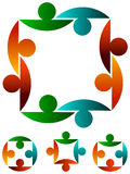Acopla o logotipo Fotografia de Stock