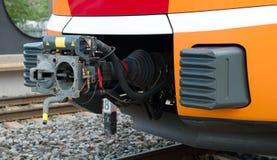 Acoplador do trem Fotos de Stock