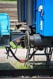Acoplador do trem Foto de Stock