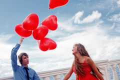 Acoplamento romântico Foto de Stock Royalty Free