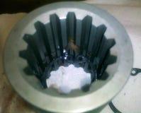 Acoplamiento de la pompa hydráulica Foto de archivo