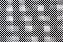 Acoplamiento hecho punto de la textura con los agujeros fotos de archivo
