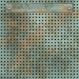 Acoplamiento metálico oxidado stock de ilustración