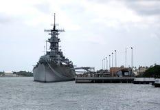 Acorazado naval de Estados Unidos Fotografía de archivo
