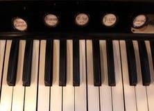 Acorde del piano Imagen de archivo libre de regalías