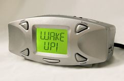 Acorde! Despertador Fotos de Stock