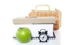 Acorde para ir à escola Imagem de Stock Royalty Free
