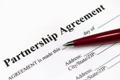 Acordo da parceria Fotos de Stock