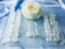 Acordo da paz da xadrez Foto de Stock