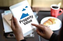 Acordo de compra residencial do empréstimo do valor da propriedade ao Mo de vida Fotos de Stock Royalty Free