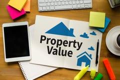 Acordo de compra residencial do empréstimo do valor da propriedade ao Mo de vida Foto de Stock Royalty Free