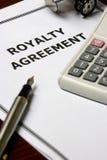 Acordo dos direitos Fotografia de Stock Royalty Free