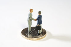 Acordo em propostas fiscais novas da UE. Fotos de Stock Royalty Free