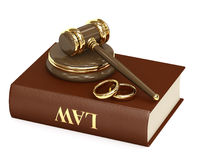 Acordo marital ilustração stock