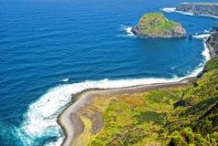 Acores; north coast of flores island Stock Photos