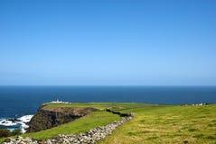 Acores; Spitze der Nordküste auf flores Insel Lizenzfreie Stockbilder