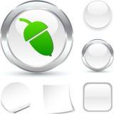 Acorn  icon. Stock Image