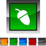 acorn ikony Obrazy Stock