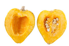 Acorn Squash Halves Royalty Free Stock Photos