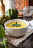 Acorn squash soup Stock Images