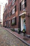 Acorn St, Boston Zdjęcie Stock