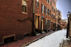 Acorn Street Royalty Free Stock Images