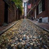 Acorn Street Boston Stock Image
