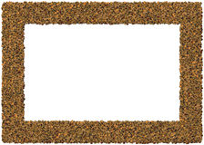 Acorns frame Royalty Free Stock Photo