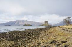 Acosador del castillo en último otoño fotos de archivo libres de regalías