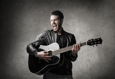 acoustic Stock Photo