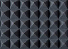 Free Acoustic Absorbing Foam For Studio Recording. Pyramid Shape. Royalty Free Stock Images - 85196909