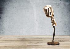 Acoustic. Announcer art artist audio award background stock image